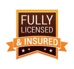Fully Licensed and Insured Badge