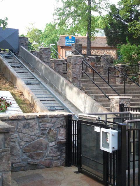 Hill Hiker commercial ADA handicap access project