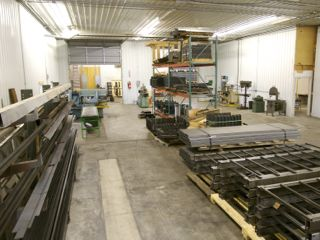 Hill HIker Manufacturing Plant with fabracating tools and Outside inclined lift components and equipment