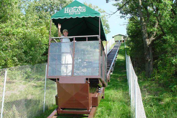 Commercial Outdoor Tram For Golf Course