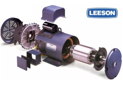 Leeson electric motor used in hill lift